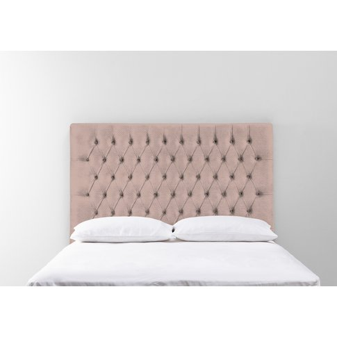 Gloria 6' Super-King Size Headboard In Portrait Pink