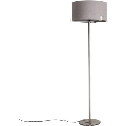 Marilyn Floor Lamp In Brushed Nickel