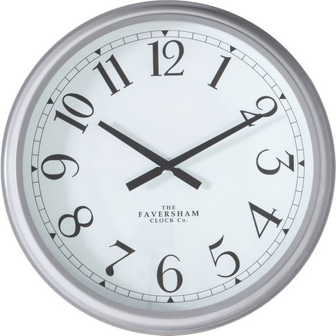 Mina Wall Clock In Grey