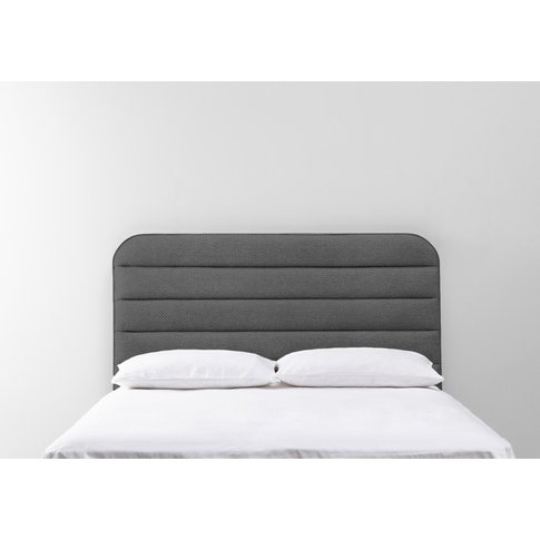 Scott 5' King Size Headboard In Eggshell Grey