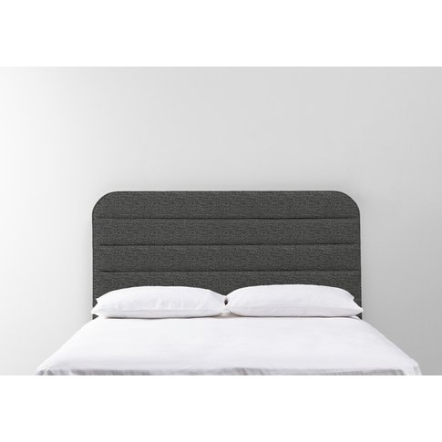 Scott 5' King Size Headboard In Hola Black