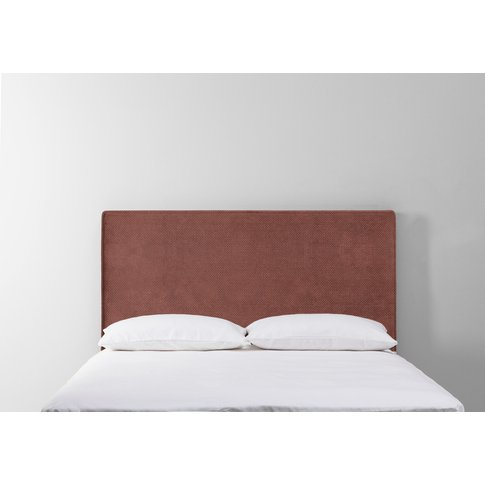 Calvin 5' King Size Headboard In Cinnamon Latte