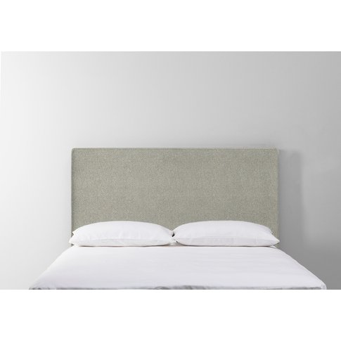 Calvin 5' King Size Headboard In Silver Weave