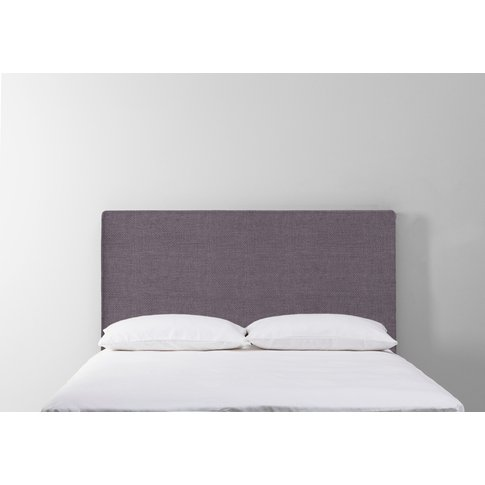 Calvin 5' King Size Headboard In Violet Leaf