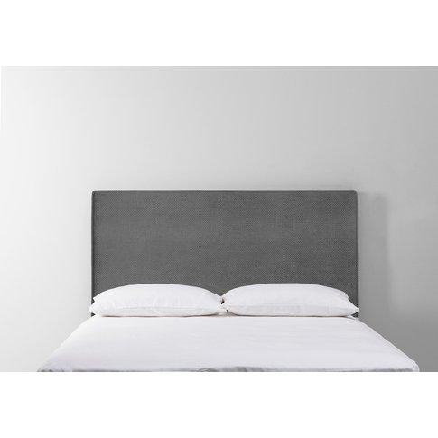 Calvin 6' Super-King Size Headboard In Eggshell Grey
