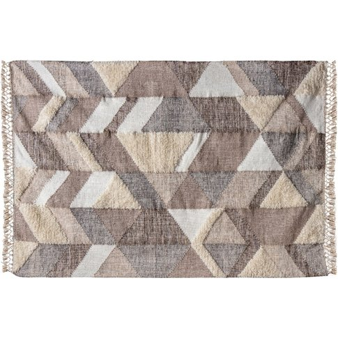 Pippa Hand Woven Patterned Rug