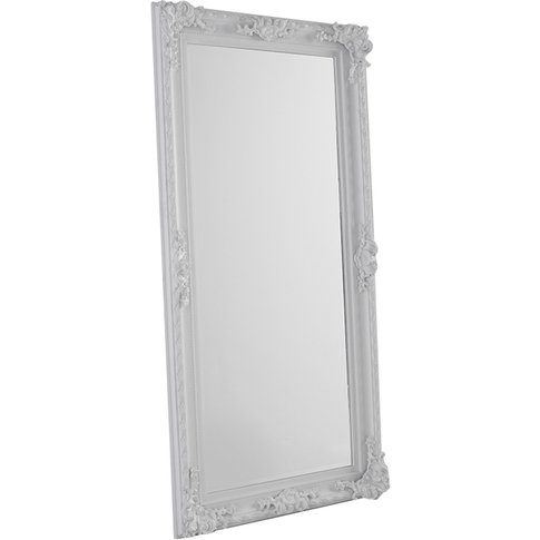 Phillip Standing Mirror In White