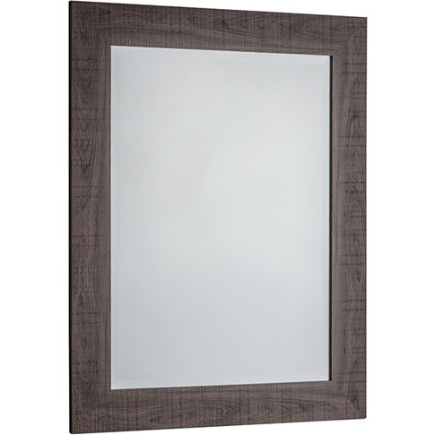 Dylan Small Wall Mirror In Grey