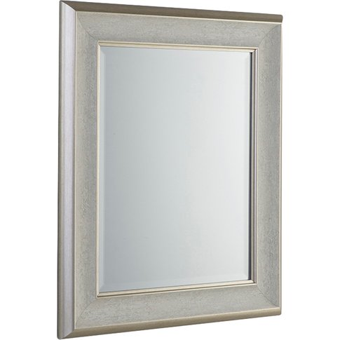 Erin Wall Mirror In Antique White, Large