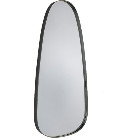 Blair Pewter West Wall Mirror