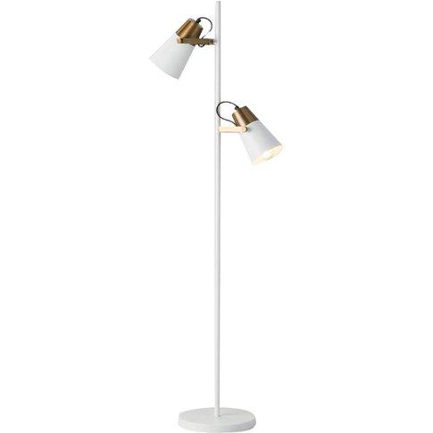 Casper Floor Lamp In White