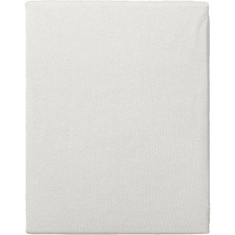 """Coleman Off White Fitted Sheet, 4'6 Double"""""""