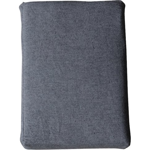 """Hayden Grey Fitted Sheet, 4'6 Double"""""""