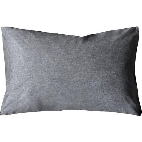 Samara Denim Pillowcase, Pair