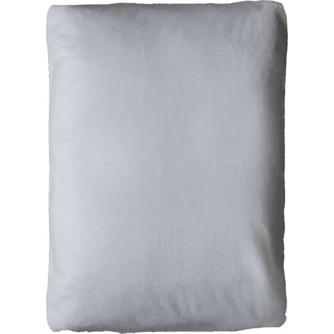 """Dana Silver Fitted Sheet, 4'6 Double"""""""