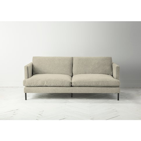 Justin Three-Seater Sofa In Chantilly Cream