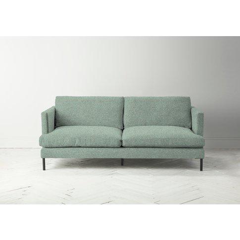 Justin Three-Seater Sofa In Thyme Green