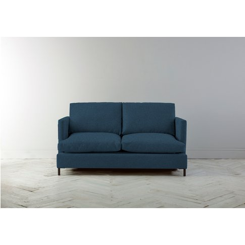 Justin Three-Seater Sofabed In Oxford Blue