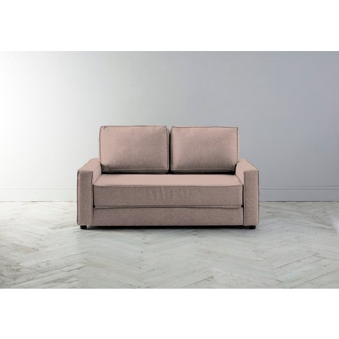 Dacre Two-Seater Sofabed In Portrait Pink