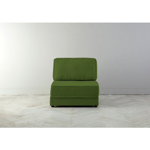 Dacre Single No Arms Sofabed In Juniper Green