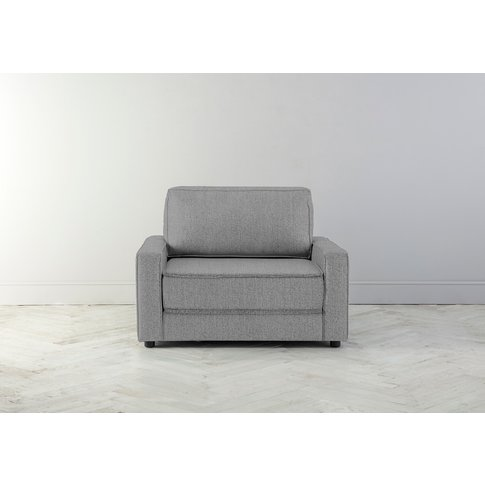 Dacre Single Sofabed In Silver Spoon