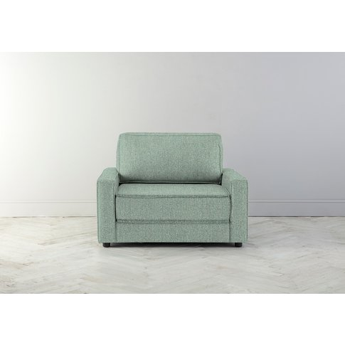 Dacre Single Sofabed In Thyme Green