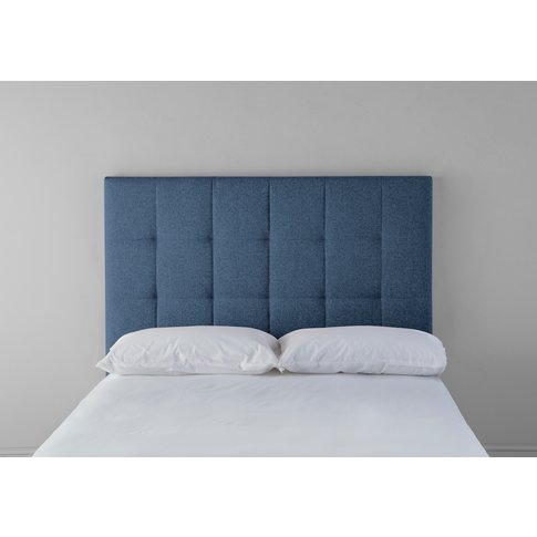 Hopper 5' King Headboard In Oxford Blue