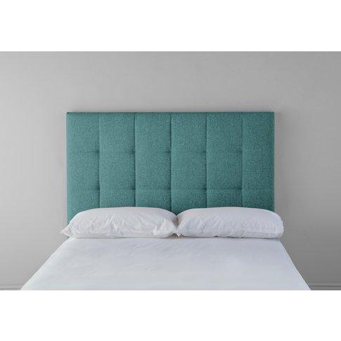 Hopper 5' King Headboard In Turkish Blue