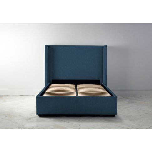 """Suzie 4'6 Double Bed Frame In Oxford Blue"""""""