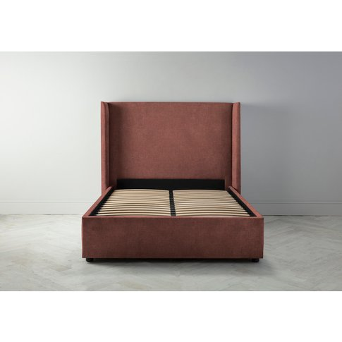 Suzie 6' Super King Bed Frame In Cinnamon Latte