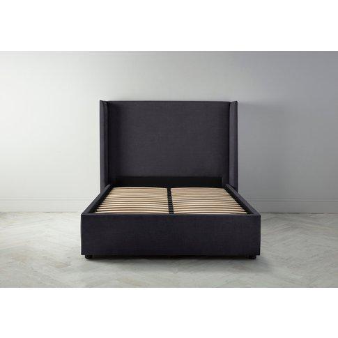 Suzie 6' Super King Bed Frame In Violet Leaf