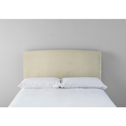 """Ted 4'6 Double Headboard In Chantilly Cream"""""""