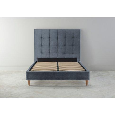 Hopper 5' King Bed Frame In Caspian Blue