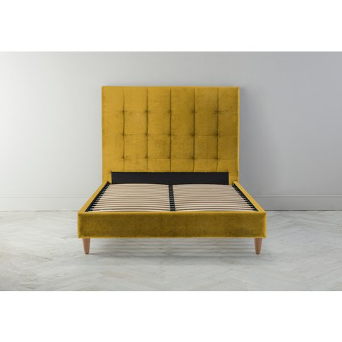 Hopper 5' King Bed Frame In Summer Buttercup