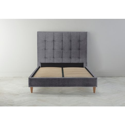 Hopper 5' King Bed Frame In The Great White