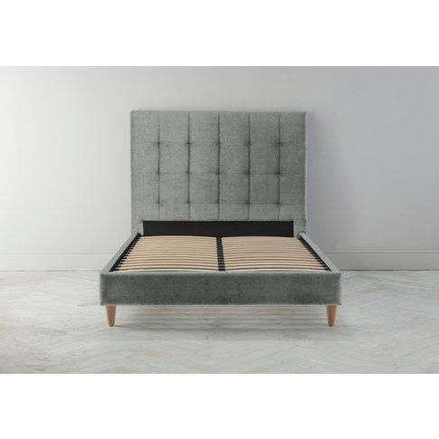 Hopper 5' King Bed Frame In Thyme Green