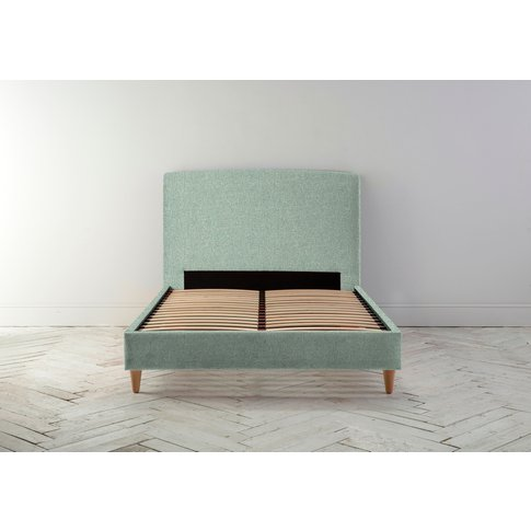 """Ted 4'6 Double Bed Frame In Thyme Green"""""""