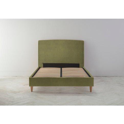 Ted 5' King Bed Frame In Juniper Green