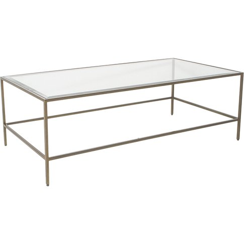 Marshall Coffee Table In Champagne