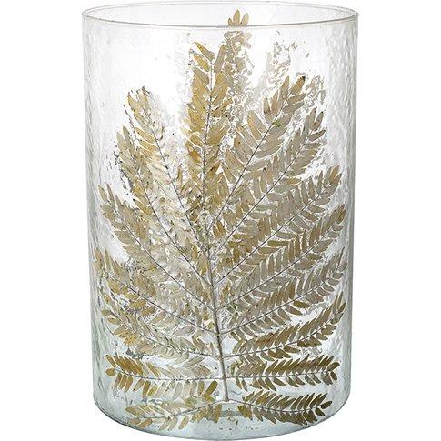 Granby Fern Large Hurricane Vase