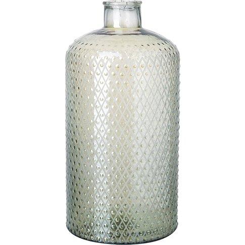 Nipawin Small Glass Bottle Vase