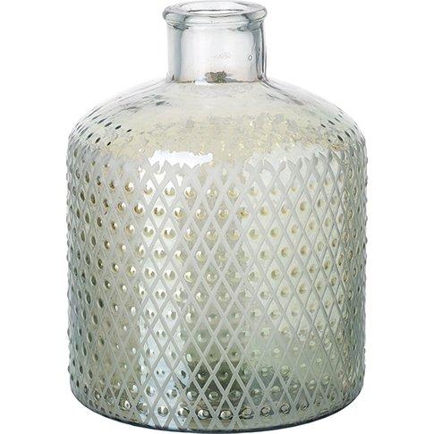 Nipawin Large Glass Bottle Vase