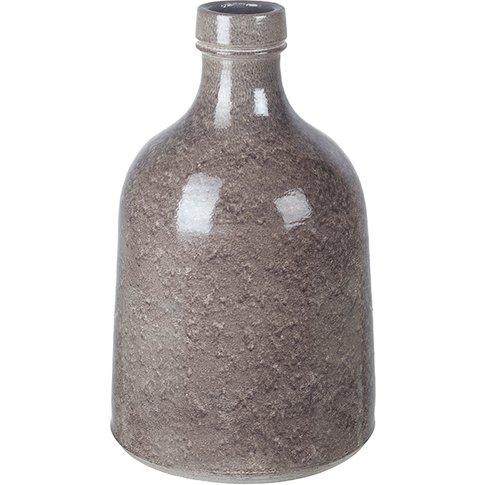 Delorainne Grey Small Ceramic Vase