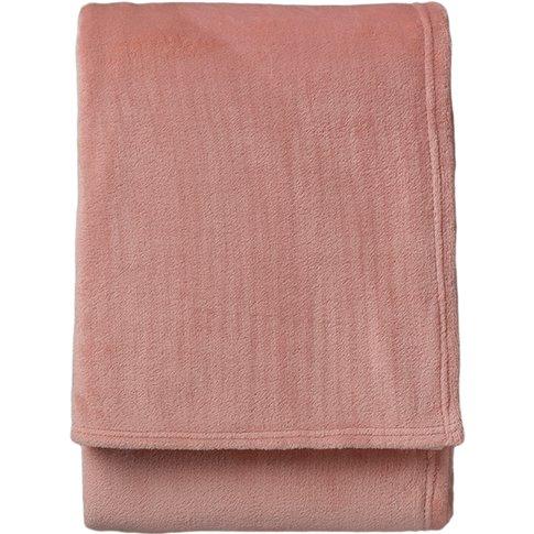 Marcel Blush Pink Throw