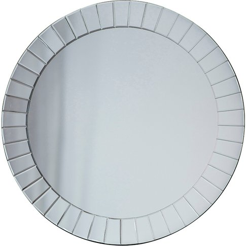 Virden Round Wall Mirror, Large