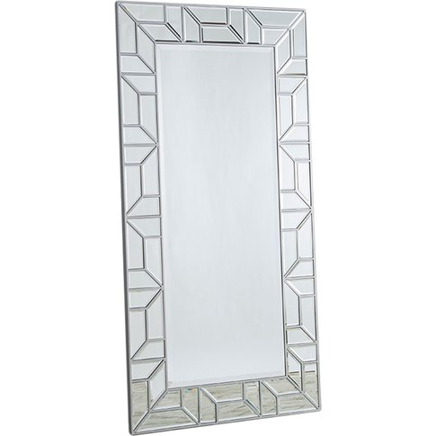 Millicent Standing Mirror In Silver