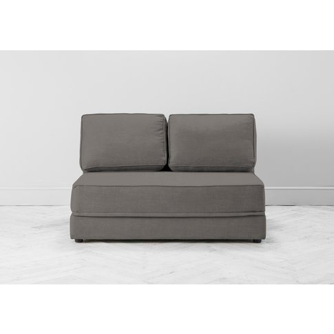 Dacre Three-Seater No Arms Sofa Bed In Abalone Beige