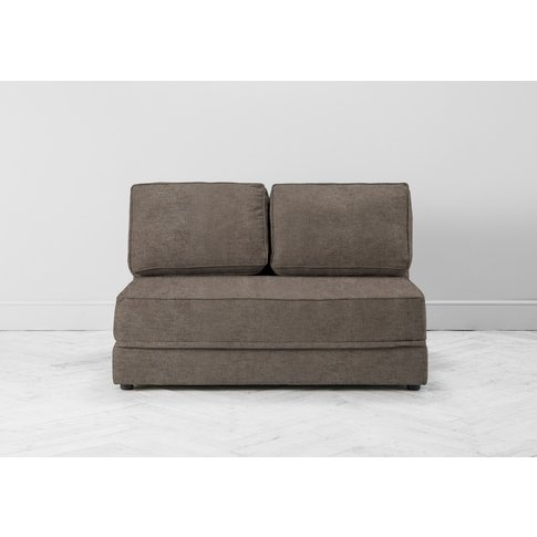 Dacre Three-Seater No Arms Sofa Bed In Limestone