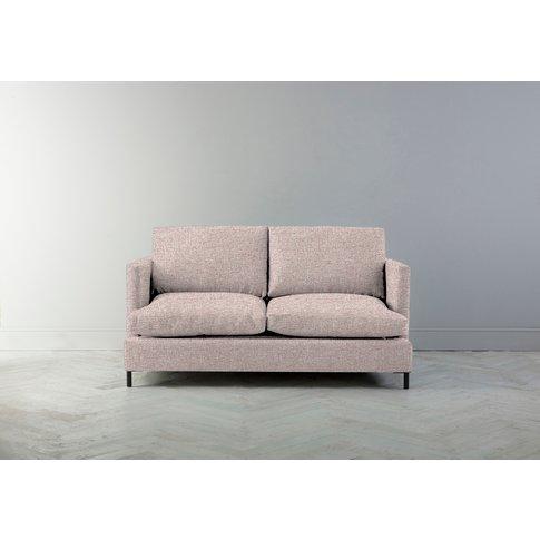 Justin Two-Seater Sofa In Blush Pink