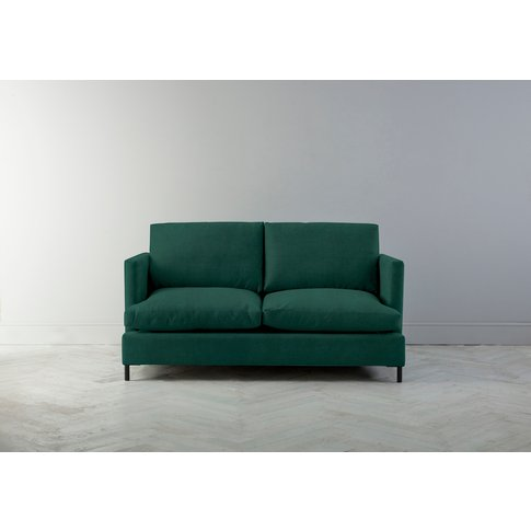 Justin Two-Seater Sofa Bed In Ocean Reef